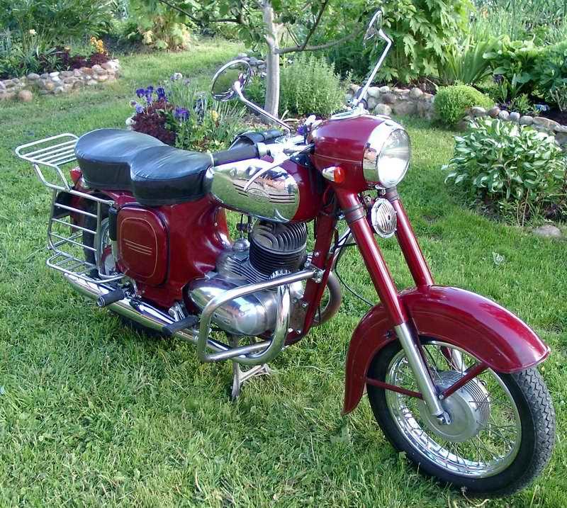 Красивые фото мотоциклов ЯВА